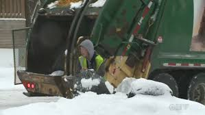 garbage collection kitchener region planning waste collection delays ctv