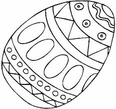 plain easter egg coloring pages getcoloringpages