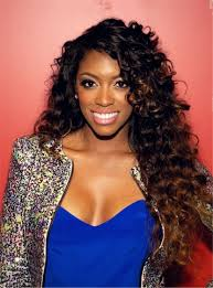 porsha hair product porsha williams hot sale charming curly synthetic hair lace front