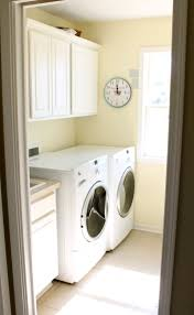 interior basic laundry room design idea with small space and