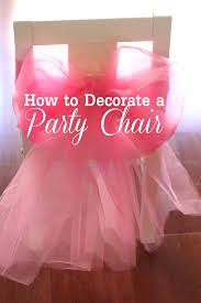 Decorating Chair For Baby Shower Baby Shower Decorations How To Make Baby Shower Diy