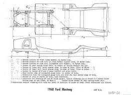 1968 mustang dimensions 1968 mustang frame images search