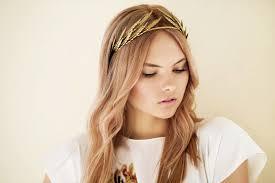 goddess headband headband hairstyles 10 easy and charming party looks