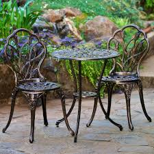 Metal Garden Table And Chairs Balcony U0026 Bistro Sets Costco