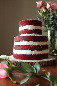 red velvet cake paint the gown red