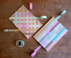 Washi Tape Notebooks — Crafthubs