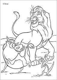 simba nala reunited coloring pages hellokids