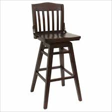 Wooden Swivel Bar Stool Beautiful Wood Bar Stool With Back With Wooden Swivel Bar