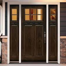 Fiberglass Exterior Doors With Sidelights Fiberglass Front Door With Sidelights Fiberglass Front Entry Door