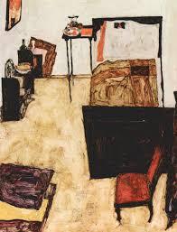 egon schiele schiele u0027s livingroom in neulengbach art that makes