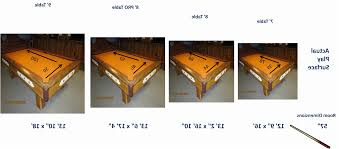 8 Ft Table Dimensions by Luxury Size Of Pool Table Best Of Pool Table Ideas