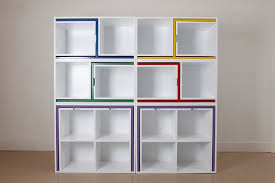 modular bookcase with hidden tables and chairs u2013 as if from