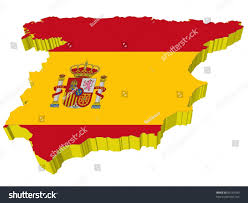 Blank Map Of Spain by Vectors 3d Map Spain Stock Vector 60169390 Shutterstock