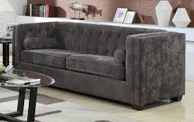 dark grey velvet tufted sofa sofa nrtradiant