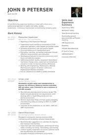 download manufacturing supervisor resume haadyaooverbayresort com