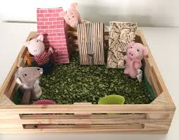 printable pigs house templates