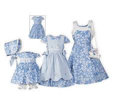 easter dresses sky blossoms stripes matching easter dresses usa made wooden