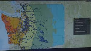 Pullman Washington Map by Massive Drill For Washington U0027s U0027mega Quake U0027 Starts Tuesday King5 Com