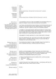Example Of Resume Australia by Breathtaking Resume Language Skills 96 On Sample Of Resume With