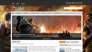 20 best games blogger templates templatemag