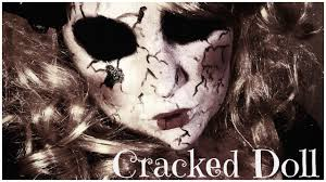 scary cracked doll halloween makeup tutorial 2015 nicole