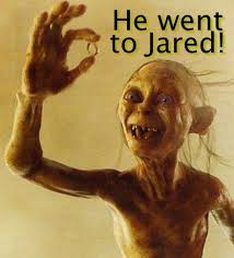 He Went To Jared Meme - he went to jared know your meme