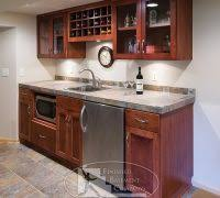Timberland Cabinets Small Finished Basement Basement Traditional With Timberland