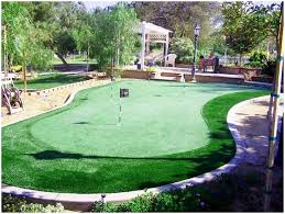 backyards awesome diy mini golf course backyard winsome images on