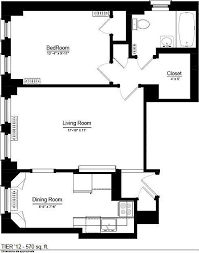 G Shaped Kitchen Floor Plans 1100 North Dearborn Apartments Chicago Il Zillow