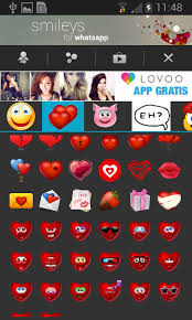 whatsapp free for android smileys for whatsapp free android app android freeware