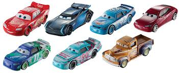 cars movie characters mattel disney pixar cars 3 vehicle lightning mcqueen dxv32