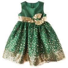 rosenau infant toddler girls u0027 sequin dress gold cute for new