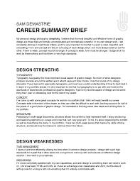 executive summary resume exles career summary twentyhueandico executive summary resume exles
