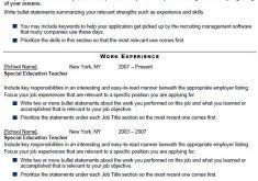 Special Education Resume Samples by Spelndid Special Education Teacher Resume Sample Stylish Resume