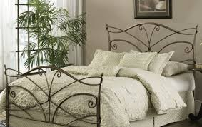 Iron Bedroom Furniture Bed Dazzling Metal Sleigh Bed Frame Beautiful Metal Sleigh Bed