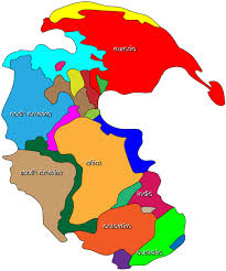 Colored World Map by North America Maps With Countries Labeled Diagrams Get Free