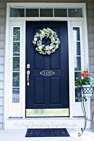 home decor address front door color and address on door home decoration pinterest