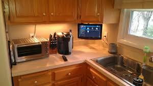 tv in kitchen ideas enjoy watching tv in your kitchen tvmounts usa blog cocinas