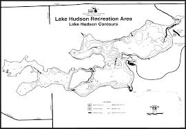 Map Of Holland Michigan by Lake Hudson State Recreation Areamaps U0026 Area Guide Shoreline
