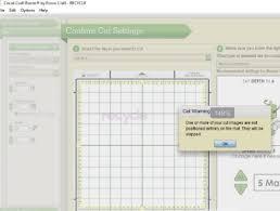 Cricut Craft Room Software - craft room error