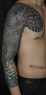 collection of 25 traditional japanese on chest n arm