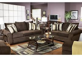 Chocolate Living Room Set Shop For A Jersey Chocolate 7 Pc Livingroom At Rooms To Go Find