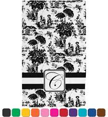 toile hand towel full print personalized potty training concepts