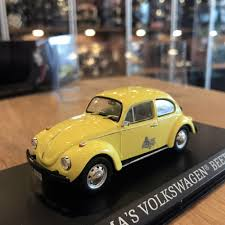 volkswagen beetle yellow greenlight 1 43 emma u0027s volkswagen beetle