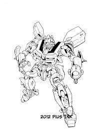 bee transformer coloring page