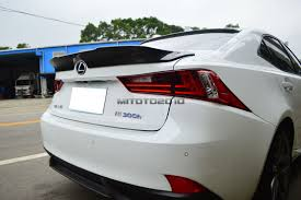 lexus isf for sale ireland carbon fiber for lexus is250 is350 is f trd type rear trunk lip