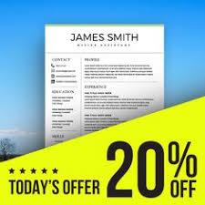 modern resume u0026 coverletter template
