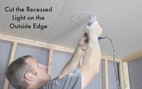 Insulation Around Recessed Lighting How To Easily Cut Drywall With A Rotozip Man U0027s Best Friend When
