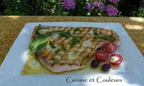 cuisiner l espadon espadon grillé à la sauce selon oliver cuisine et