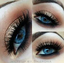 top 10 super trendy gold eyes makeup ideas for 2016